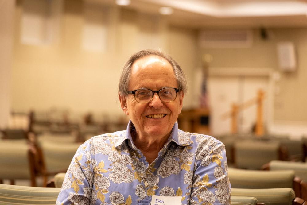 Annual meeting 2019 Don Snodgrass